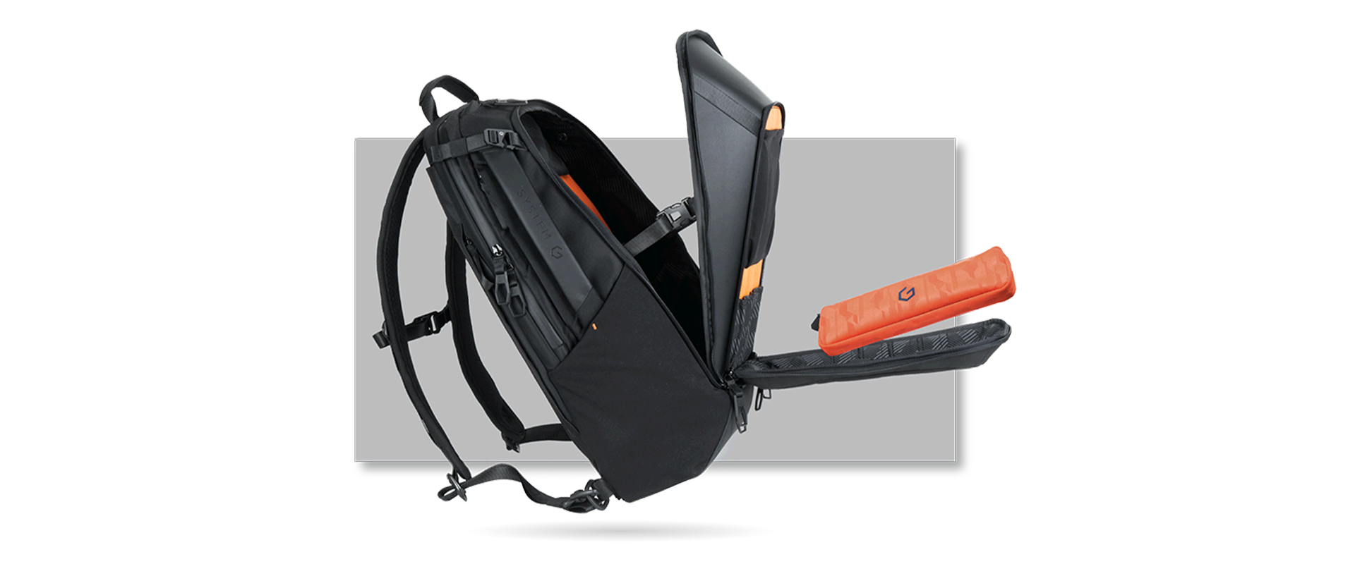"""SYSTEM G CARRY+ 17"""" BACKPACK - SYSTEM G"""