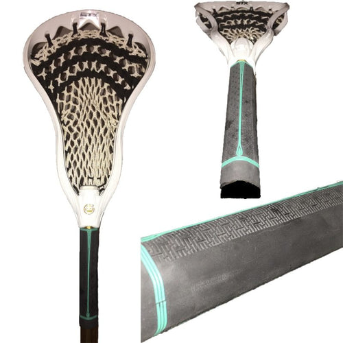 Buttendz Fusion Lacrosse Face Off/ Goalie Specific Stick Grip