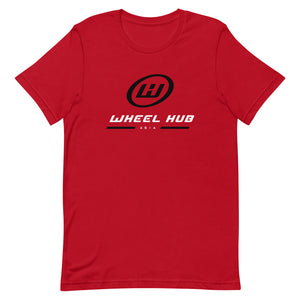 "Wheel Hub ""Dangle"" Tee (Red)"