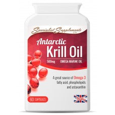 Capsules de gel Antarctic Krill Oil - Bioté shop