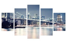 Load image into Gallery viewer, Beautiful Building 5 Panels Wood N Canvas Wall Art Paintings