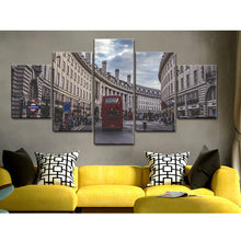 Load image into Gallery viewer, Car Modular 5 Panels Wood N Canvas Wall Art Paintings