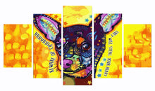 Load image into Gallery viewer, Chihuahua Thief 5 Panels Wood N Canvas Wall Art Paintings