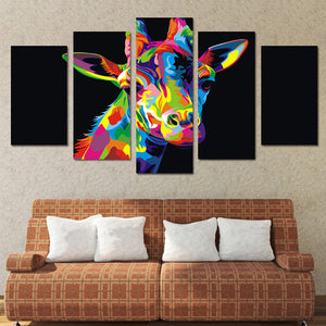 Colorful Deer