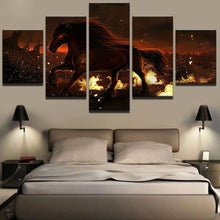 Load image into Gallery viewer, Cuadros 5 Panels Wood N Canvas Wall Art Paintings
