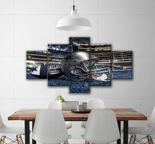 Load image into Gallery viewer, dallas cowboys sport 5 Panels Wood N Canvas Wall Art Paintings