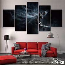 Load image into Gallery viewer, Dark Souls 5 Panels Wood N Canvas Wall Art Paintings