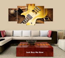 Load image into Gallery viewer, Electric Guitar Repair 5 Panels Wood N Canvas Wall Art Paintings