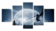 Load image into Gallery viewer, Final Fantasy 5 Panels Wood N Canvas Wall Art Paintings