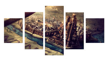 Load image into Gallery viewer, Game Of Thrones Castle 5 Panels Wood N Canvas Wall Art Paintings