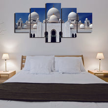 Load image into Gallery viewer, Muslim majid 5 Panels Wood N Canvas Wall Art Paintings
