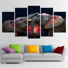 Load image into Gallery viewer, Playful Elephants