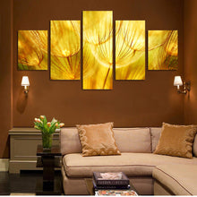 Load image into Gallery viewer, Quartz crystal 5 Panels Wood N Canvas Wall Art Paintings