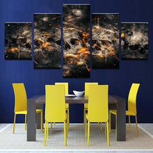 Load image into Gallery viewer, Raise The Dead 5 Panels Wood N Canvas Wall Art Paintings