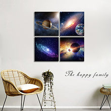 Load image into Gallery viewer, Universal Magic Power 4 Panels Wood N Canvas Wall Art Paintings