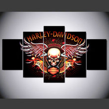 Load image into Gallery viewer, harley davidson skull logo