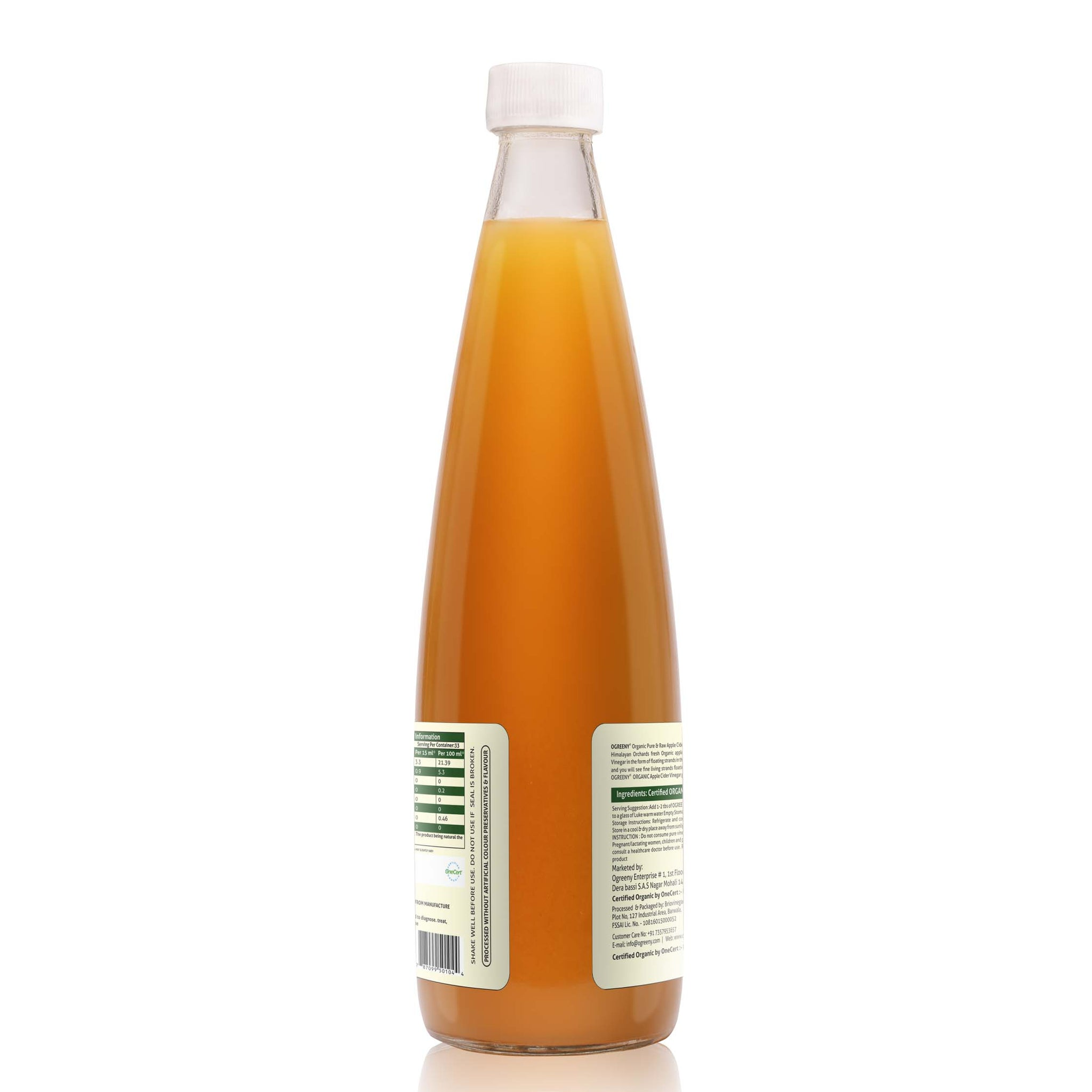 Do you refrigerate apple cider vinegar with mother