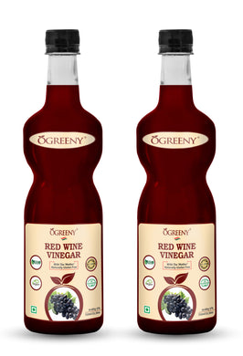 Pack of 2 - Ogreeny Redwine Vinegar ( Made with cabernet sauvignon grapes)