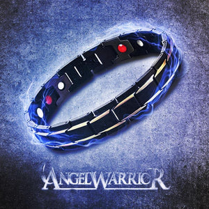 """ANGEL WARRIOR"" Stainless Steel Energy Bracelet 