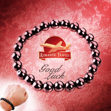 Load image into Gallery viewer, Good luck Magnetic Bracelet | Hematite Stone | Helps Remove Stress