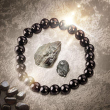 "Load image into Gallery viewer, ""ANGEL WARRIOR"" Hematite Energy Bracelet 