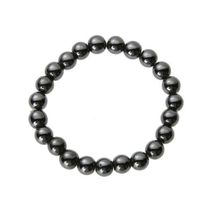 Good luck Magnetic Bracelet | Hematite Stone | Helps Remove Stress