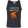 Funny I Woke Up In Feast Mode Turkey Thanksgiving Unisex Tank Top