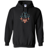 Hank Jr Tour 2018 America Williams Fan Clup G185 Gildan Pullover Hoodie 8 oz.