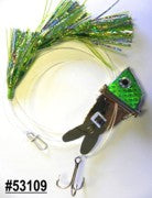Shock-Wave Bait Rig #53109 chrome/green scales