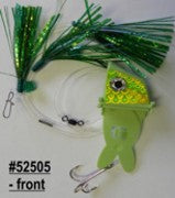 Shock-Wave Bait Rig #52505 green/chartreuse&green