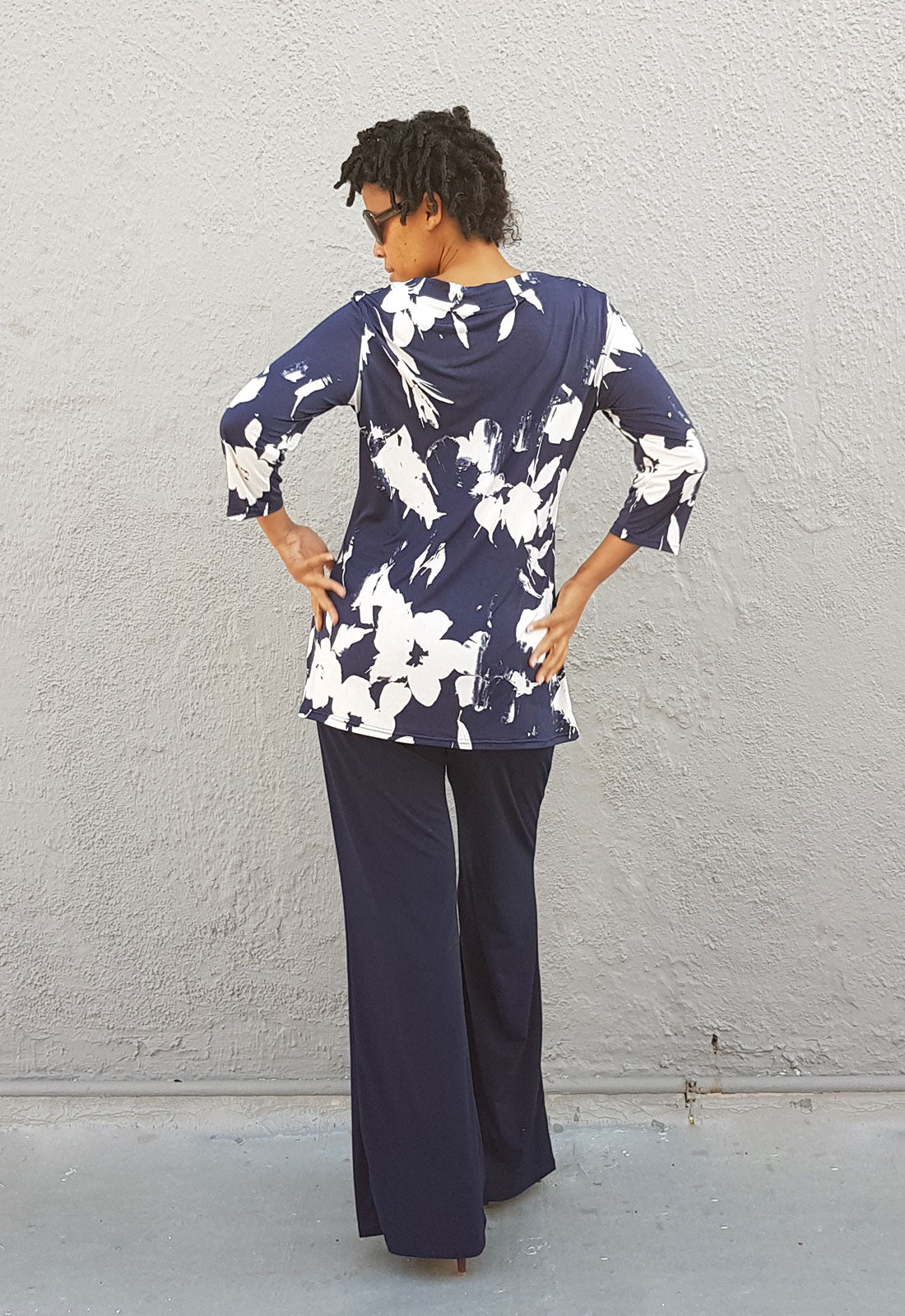 Twin-Set Pant Suit in Navy