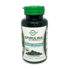Load image into Gallery viewer, 100% Spirulina 1000 mg Tablets x 120 Count