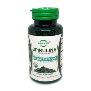 100% Spirulina 1000 mg Tablets x 120 Count
