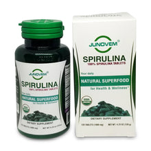 Load image into Gallery viewer, Pure Spirulina 1000 mg Tablets x 120 Count