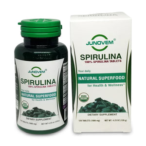 Pure Spirulina 1000 mg Tablets x 120 Count