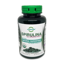 Load image into Gallery viewer, 100% Spirulina 1000 mg Tablets x 180 Count