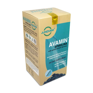 Avamin Spirulina Supplement Tablets