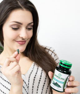 100% spirulina tablets natural superfoods
