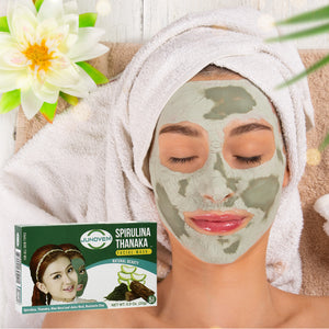 Spirulina Thanaka Face Mask