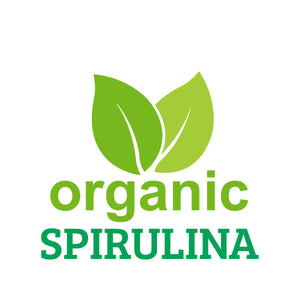 JUNOVEM Organic Spirulina, All Natural 100% Spirulina Tablets, Boosts Immune Function, Vegan, Superfood