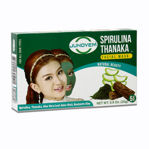 Spirulina Thanaka Facial Mask