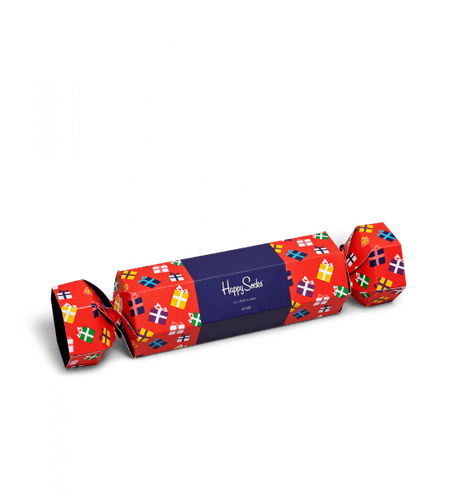 Happy Socks Gift Christmas Cracker Gift Box (2-Pack)