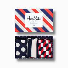 Happy Socks 3-Pack Stripe Gift Box