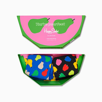 Happy Socks 2-Pack Fruit Gift Box