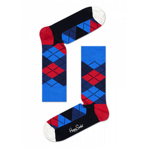 Happy Socks Argyle Red