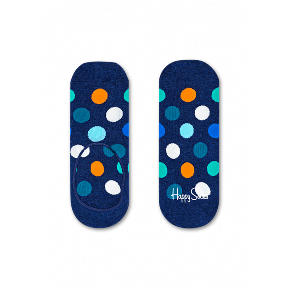 Happy Socks Big Dot Liner Navy