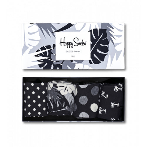 Happy Socks Black & White Gift Box