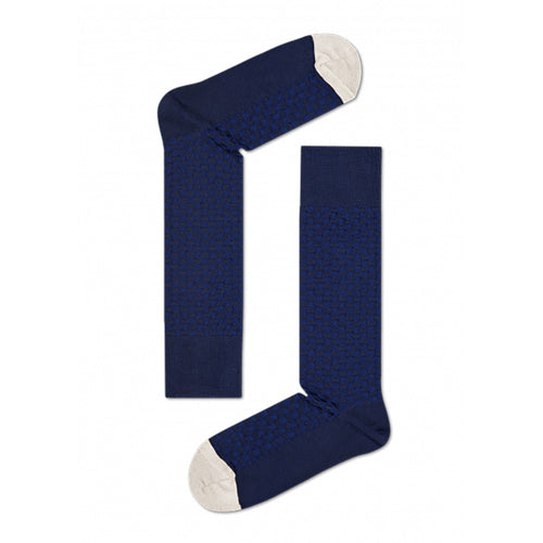 Happy Socks Dressed Moss Knit Navy