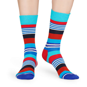Happy Socks Multi Stripe Blue