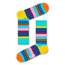 Happy Socks Multi Stripe Turquoise